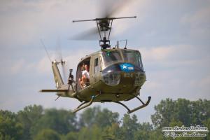 UH-1 Huey at Thunder Over Michigan 2013