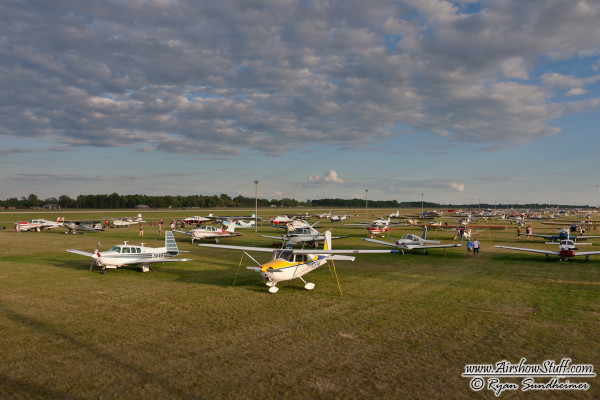Aircraft on Display - EAA AirVenture