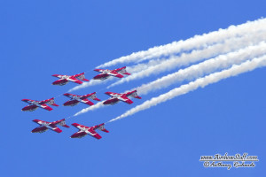 Canadian Forces Snowbirds - Abbotsford Int'l Airshow
