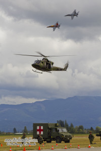 Combined Forces Demo - Abbotsford Int'l Airshow