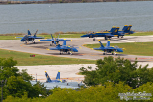 US Navy Blue Angels - Cleveland Airshow 2014