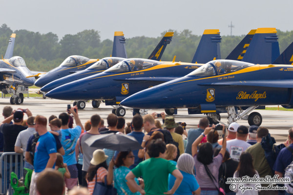 US Navy Blue Angels - NAS Oceana Airshow 2014