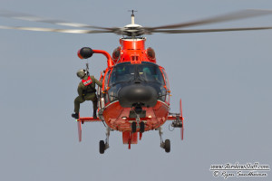 USCG MH-65 Dolphin Helicopter - Cleveland Airshow 2014
