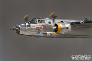 """B-25 """"Yankee Warrior"""" - Cleveland Airshow 2014"""