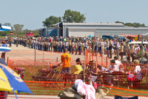 Wall of Cadets - Wings Over Waukegan Airshow 2014