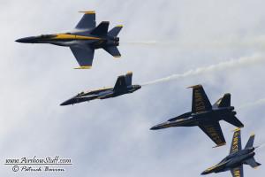 US Navy Blue Angels - Selfridge ANGB Airshow 2014