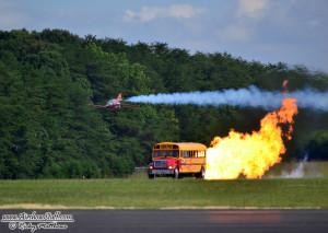 FLS Microjet and Jet Bus - Winston-Salem Airshow 2014