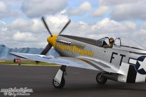 P-51 Mustang - Winston-Salem Airshow 2014