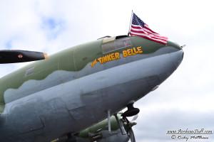 C-46 Commando - Winston-Salem Airshow 2014