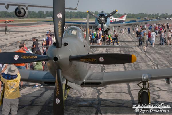 P-63 King Cobra - Thunder Over Michigan 2014