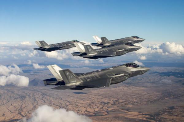 F-35 Flyover Luke Darin Russell/Lockheed Martin